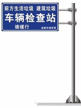 地名标志牌,公路标志牌