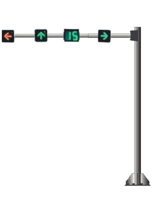 悬臂式红绿灯杆