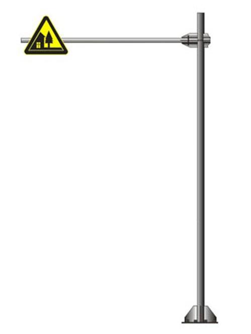 单悬臂标志杆