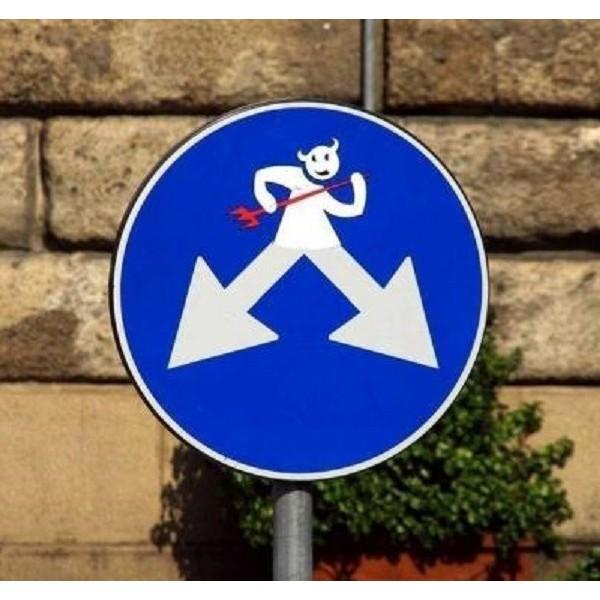 你喜欢这样的交通标志牌吗?