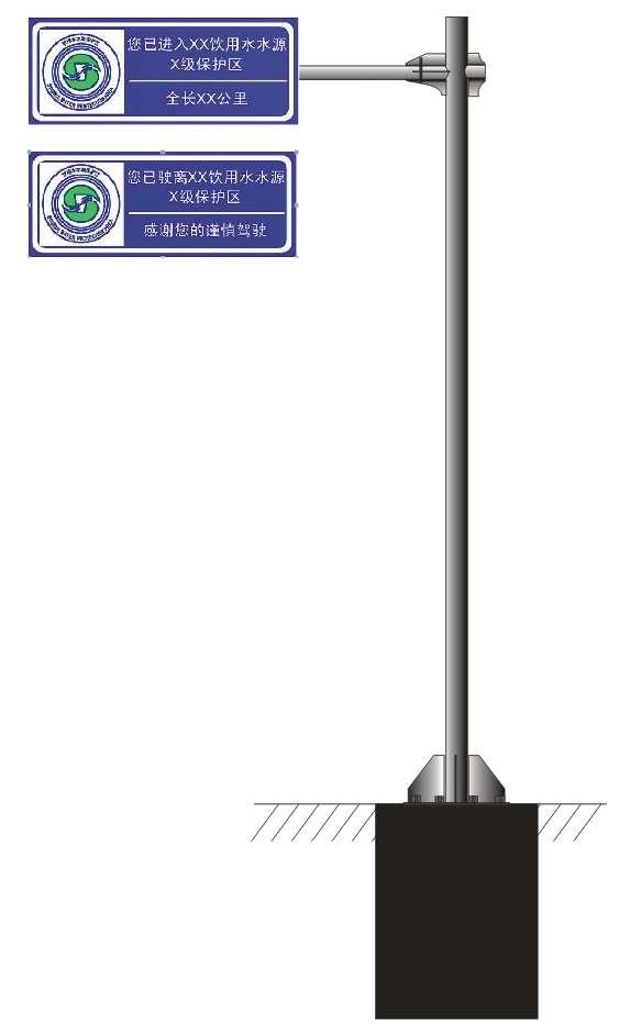 华程路安,水资源标志牌