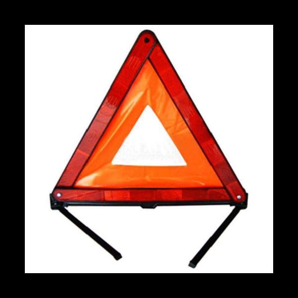 三角警示牌提醒您国庆安全出行