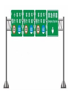 高速公路限速标志牌,道路交通标志牌